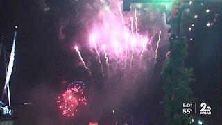 Baltimore City mayor addresses New Year's celebrations