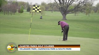 The golf season is open at the Olmsted parks golf courses