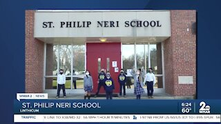 Good Morning Maryland from St. Philip Neri School in Linthicum