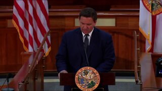 Florida Gov. Ron DeSantis holds news conference in Tallahassee