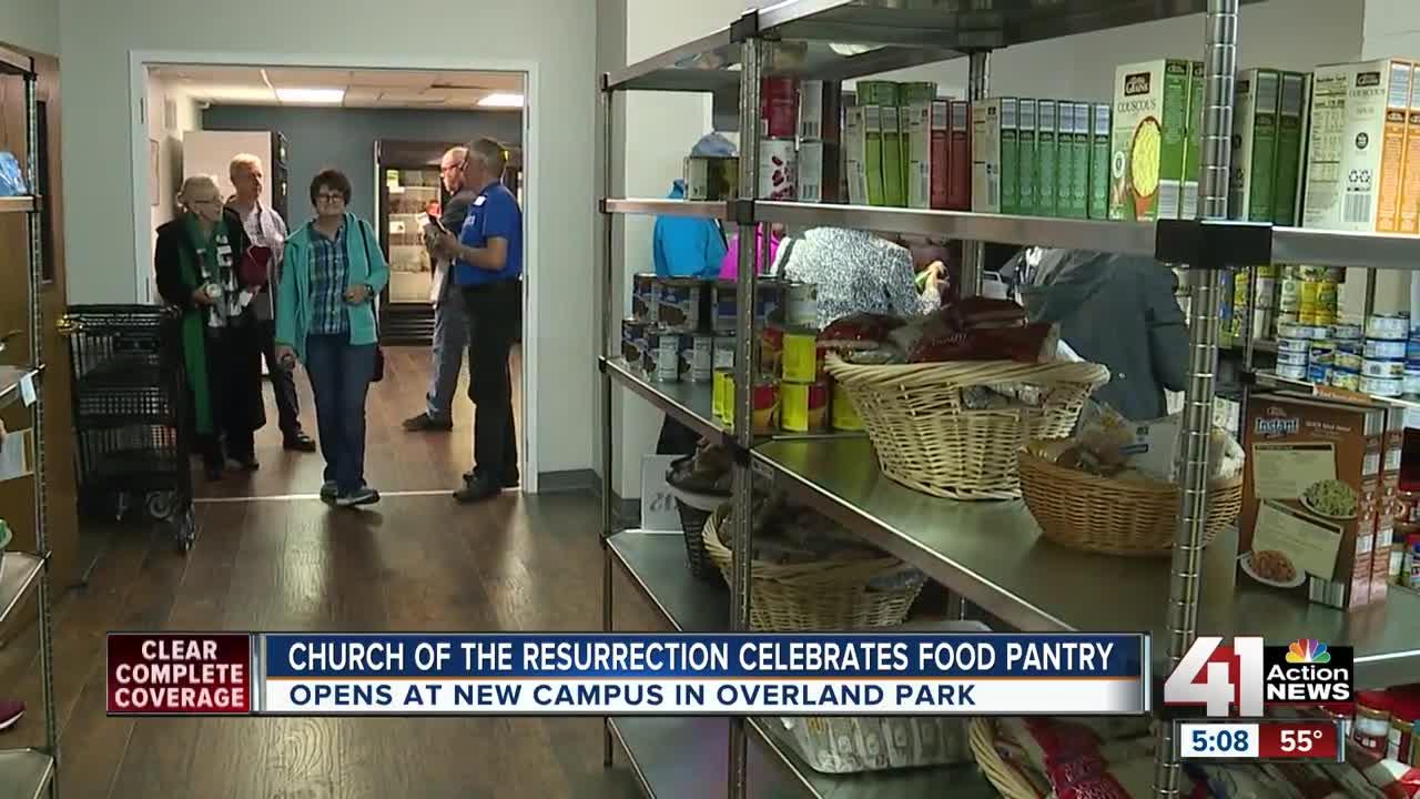 Church of the Resurrection celebrates food pantry