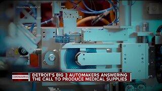 Detroit carmakers turn to making medical supplies amid coronavirus pandemic