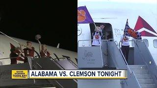 Alabama-Clemson IV: National Championship game kicks off Monday night