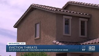Landlord threatens eviction despite executive order