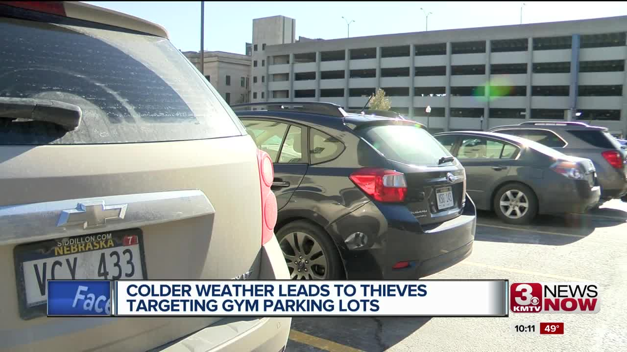 Gym Parking Lot Thefts