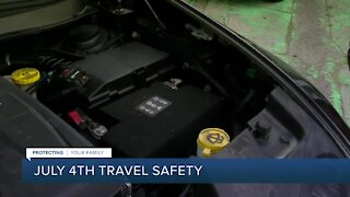 July 4th travel safety tips with Trooper O