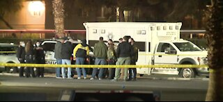 Las Vegas police investigate deadly shooting