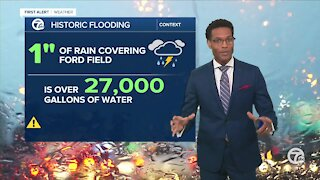 The flood watch continues