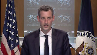 Spokesperson Ned Price leads the Daily Press Briefing at the Department of State.