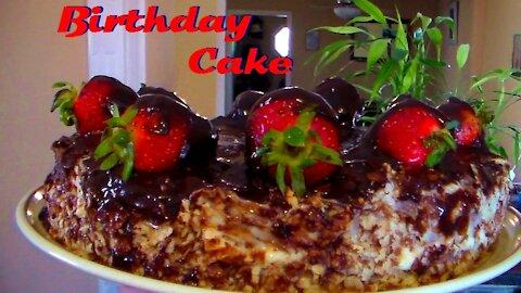 Birthday Chocolate Cake by Chef George from FinestChef.com