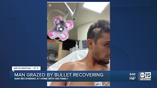 Man recovering after being grazed by bullet during West Vally shooting rampage