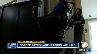 Border Patrol agent battling ALS