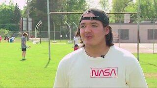 Salamanca star reunites with former teammate