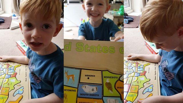 Supersmarte Thomas (3) slår de fleste i geografi