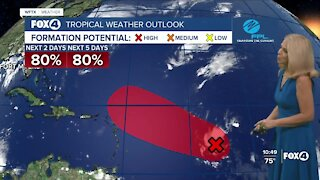 Tropical Storm Odette is no threat