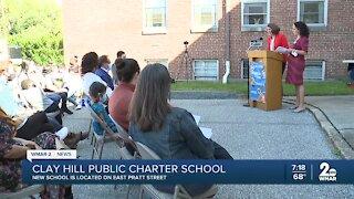 Clay Hill Public School Opens
