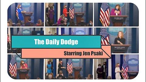 The Daily Dodge by Biden press secretary Jen Psaki * Oct. 5, 2021