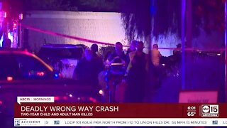 Two killed in wrong-way crash in Tempe