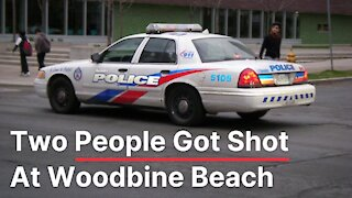 Two People Got Shot At Toronto's Woodbine Beach Early This Morning