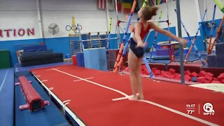 Young gymnast balances life and dreams