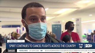 Spirit Airlines cancels flights