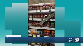 Snake in Grocery store
