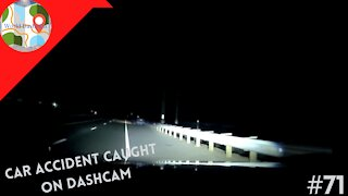 Dashcam Shows Why You Should Never Drive Tired - Dashcam Clip Of The Day #71