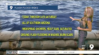 Increasing storms lead to flood risks