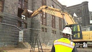 Gov. Hogan on hand for completed demolition of the Baltimore City Detention Center