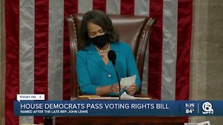 House passes voting rights bill and budget blueprint