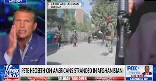 Pete Hegseth addresses Afghanistan situation