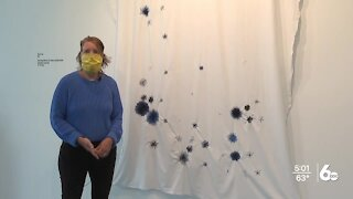 Boise State students create visual art exhibit of COVID-19 deaths in Idaho