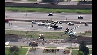 NB I-75 closed from I-696 to 12 Mile for emergency repairs due to sinkhole