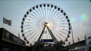 Final touches being put on State Fair grounds hours before fair opens for 2021