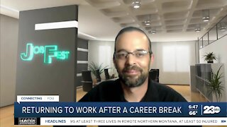 KBIB: How to return to work after a career break