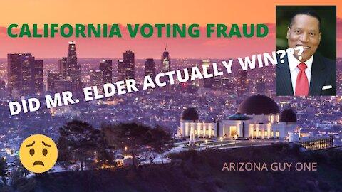 CALIFORNIA FRAUD...ELDER LOST??? REALLY!!