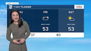 Noon Weather Forecast 10-21-21