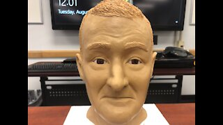 Stark County officials unveil forensic reconstruction of unidentified man found in rural area in 2020