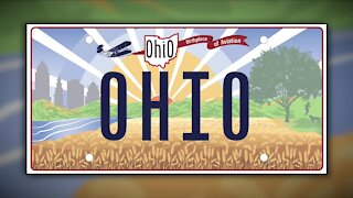 Ohio BMV reveals new license plate, and 'Wrights' what was wrong with it