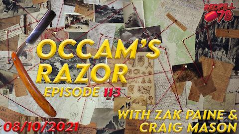 Occam's Razor with Zak Paine & Craig Mason Ep. 113