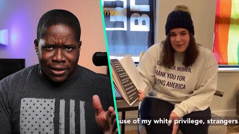 Teacher Reads White Privilege KIDS Book