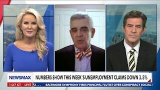 NUMBERS SHOW THIS WEEK'S UNEMPLOYMENT CLAIMS DOWN 3.5%