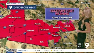 Less storms and hotter temps