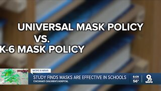 Study finds masks are effective in schools