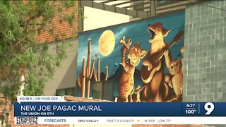 Tucson muralist completes new mural on Fourth Avenue
