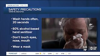 Health experts looking ahead to cold and flu season, want people to take precautions