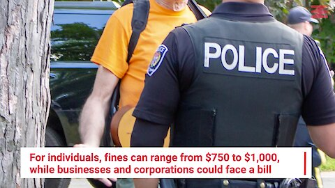 Ontarians Can Now Be Fined Up To $1K For Not Practicing Social Distancing