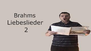 Brahms Liebeslieder - Am Gesteine rauscht die Flut