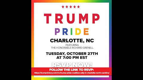 #TrumpPride Rally Charlotte North Carolina