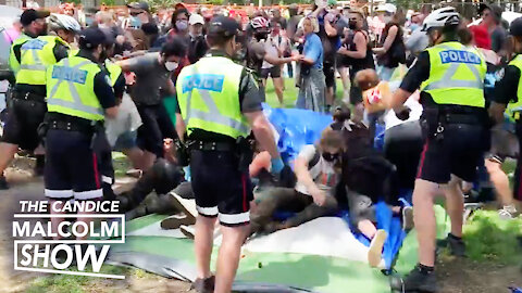 Toronto Police finally break up illegal tent cities
